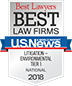 Best Law Firms National Tier 1 2018 Litigation
