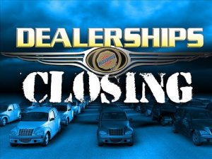 Dealerships Closing