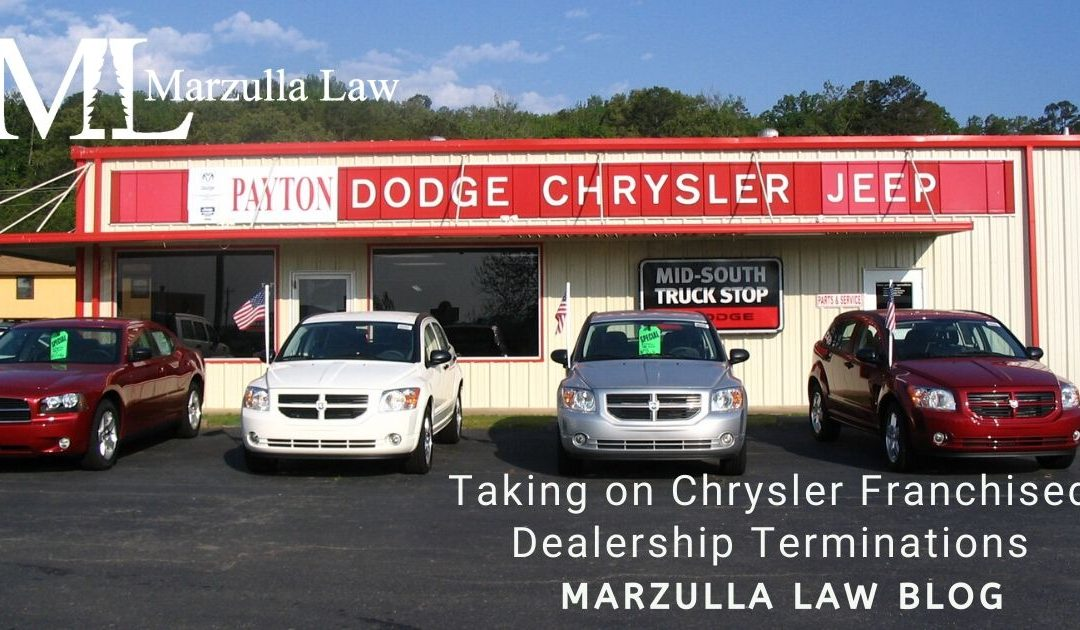 Taking on Chrysler Franchised Dealership Terminations