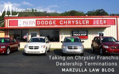 Taking on Chrysler Franchised Dealership Terminations