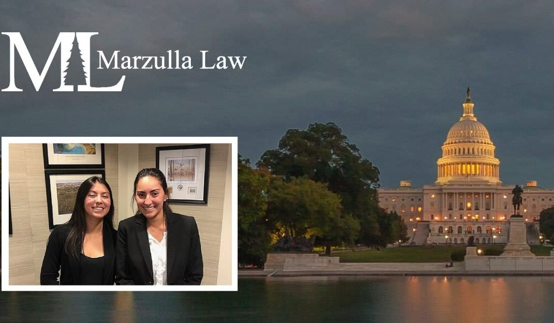 Marzulla Law Intern Spotlight: Andrea Cabada and Monica Nerz
