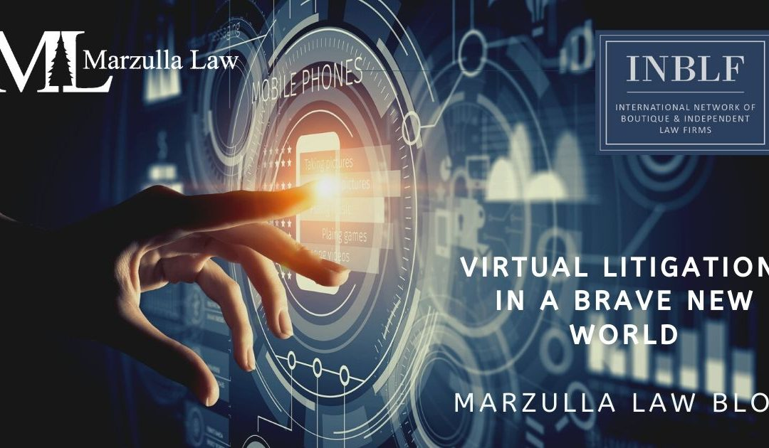Virtual Litigation in a Brave New World – Agenda for June 25th Webinar