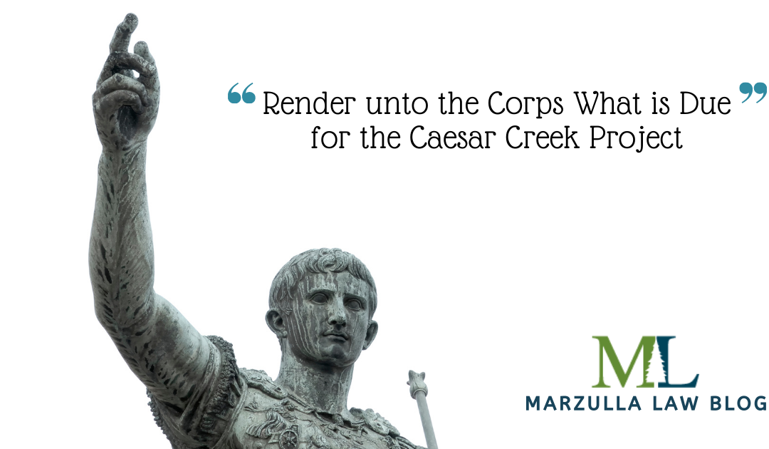 Render unto the Corps What is Due for the Caesar Creek Project
