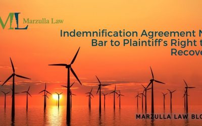 Indemnification Agreement No Bar to Plaintiff's Right to Recover