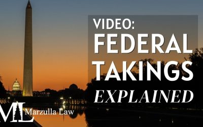 VIDEO: Federal Takings Litigation: Your Options If the Government Has Claimed Rights to Your Property
