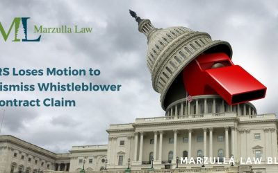 IRS Loses Motion to Dismiss Whistleblower Contract Claim